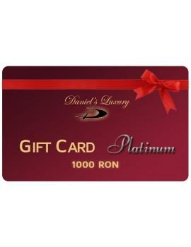Card cadou Platinum 1000