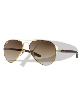 Ray-Ban RB8307 Aviator Carbon Fibre 112/85 58 14 2N